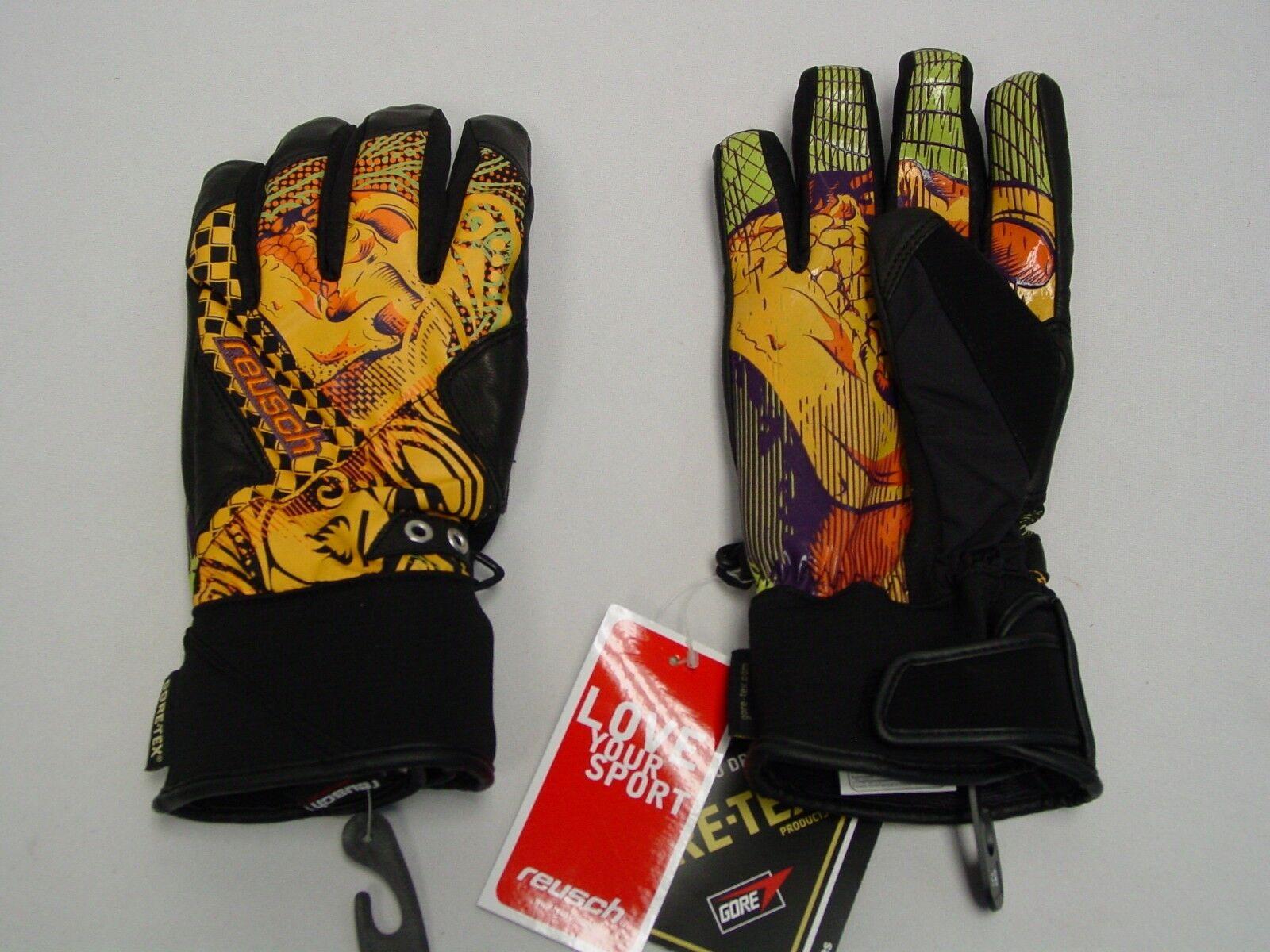 Neu Reusch Snowboard Handschuhe Headbanger GTX Gore Tex Erwachsene Medium 8.5