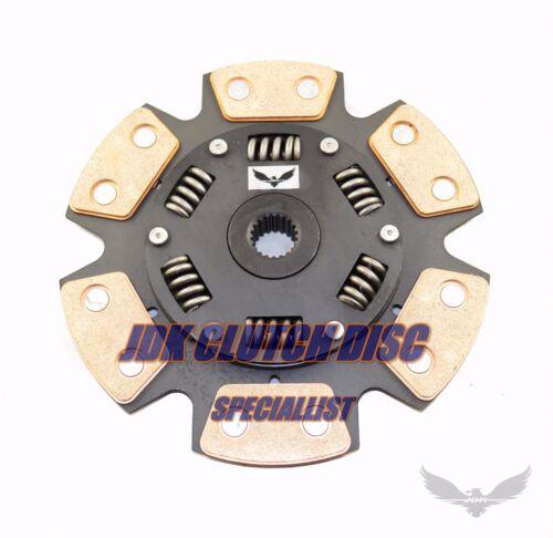 JDK 2001-2005 HONDA CIVIC DEL SOL D17 STAGE2 HD ORGANIC CLUTCH DISC 20SP 210mm