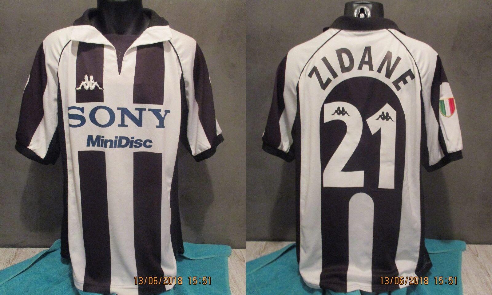 Maglia  JUVENTUS 19961997 ZIDANE VINTAGE 96_97 maillot shirt jersey footbtutti
