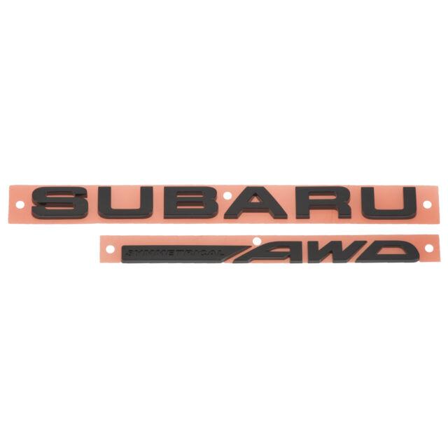 OEM 2017 Subaru Crosstrek Rear Tailgate Letter Marker SET 93079FJ230 93079FJ220