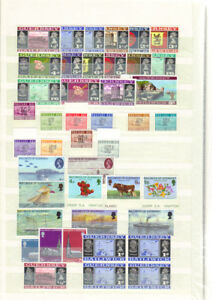 1969-80-QE11-GUERNSEY-SMALL-MINT-GOOD-FINE-STAMP-COLLECTION