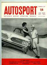 Autosport December 12th 1958 *Mike Hawthorn Champion of the World & Melbourne GP