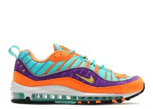 size 40 cb3ea 73af8 Image is loading Nike-Air-Max-98-QS-Hyper-Grape-Cone-