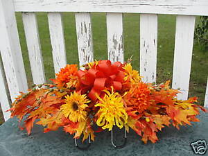 Fall-leaves-Thanksgiving-Autumn-Harvest-Cemetery-Flower-Grave-Tombstone-Saddle