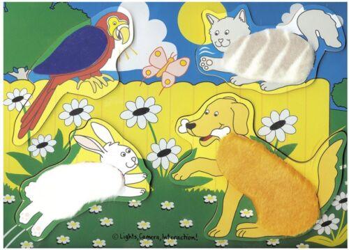 Melissa /& Doug Pets Fuzzy Friends Puzzle