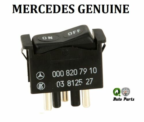 Mercedes W123 280E 280CE 280S 280SE A//C and Heater Control Switch  0008207910
