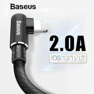 Baseus-90-Degree-Elbow-Lightning-USB-Fast-Charger-Data-Cable-for-iPhone-X-8-7-6s