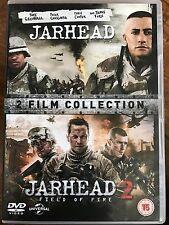 JAR HEAD + JARHEAD 2: FIELD OF FIRE   2005 + 2014 Gulf War Film Double UK DVD