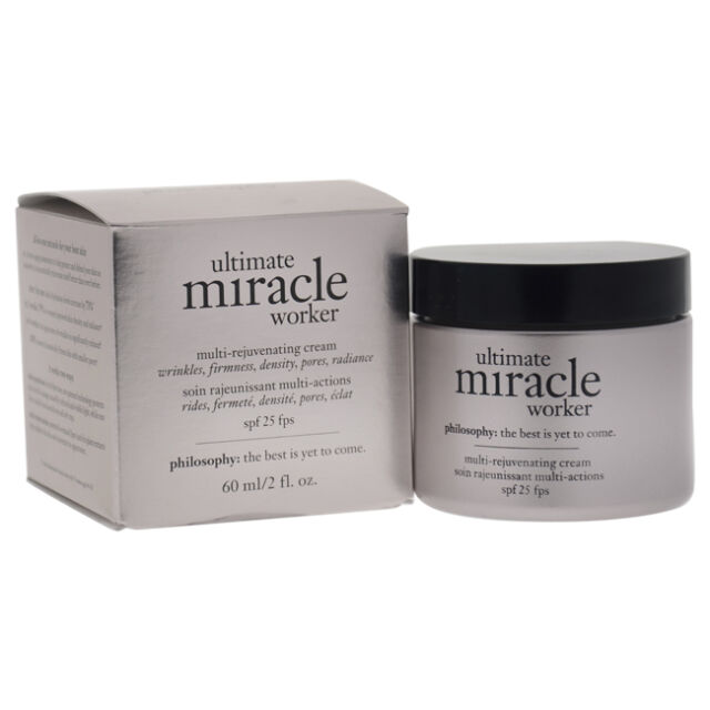 Ultimate Miracle Worker Multi-Rejuvenating Cream SPF 25 by Philosophy - 2 oz