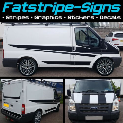 FORD TRANSIT SPORT SWB GRAPHICS STICKERS DECALS STRIPES M SPORT MK6 MK7 D ST 2.0