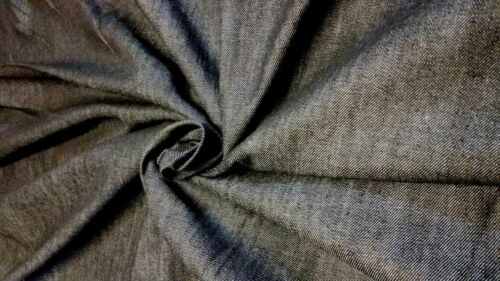 PLAIN THICK DENIM FABRIC MATERIAL SOFA UPHOLSTERY CLOTHING CRAFTS TABLE CLOTHS