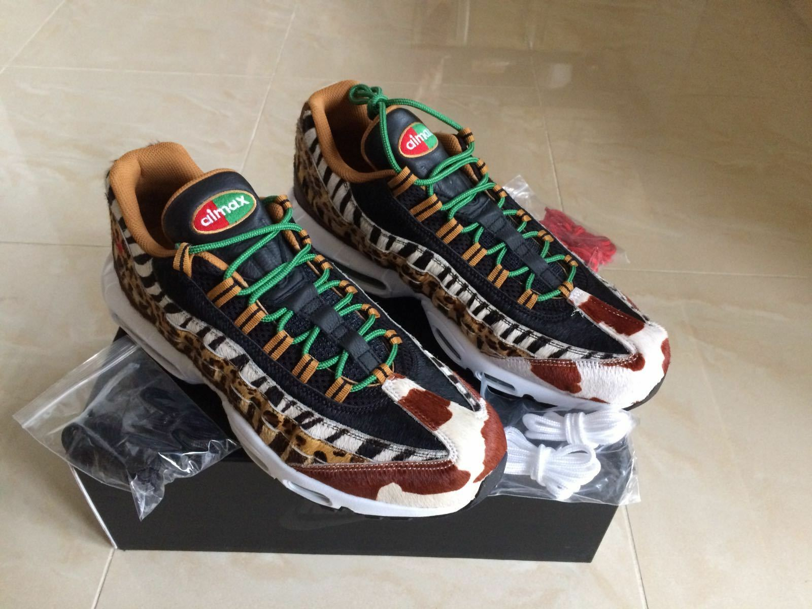 2018 NIKE AIR MAX 95 ATMOS ANIMAL BEAST DLX SIZES & 12 NEW Wild casual shoes