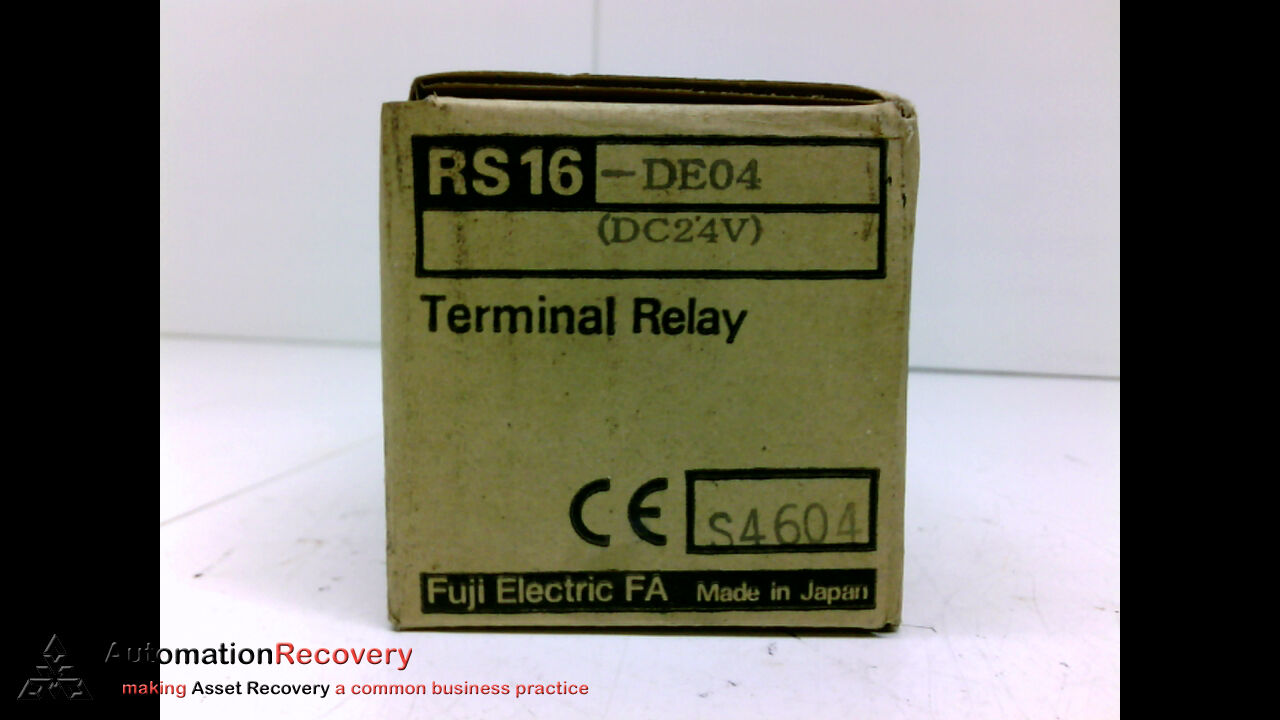 Fuji Electric Rs16 De04 Terminal Relay Module 24vdc 195254 Ebay Common In Norton Secured Powered By Verisign