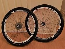 """American Classic 29"""" All Mountain Disc Wheelset,Tires and Cassette - ERD29 594"""