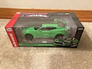1:18 Krypton Green 2017 Chevrolet Camaro SS Autoworld Muscle Cars USA 1 Of 1002