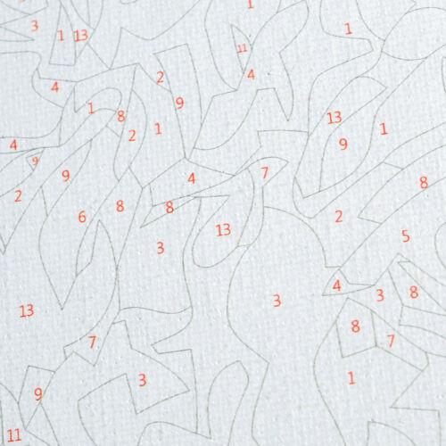 Malen nach Zahlen DIY Ölgemälde Erwachsene Kind Wandbild Malvorlagen Komplettset