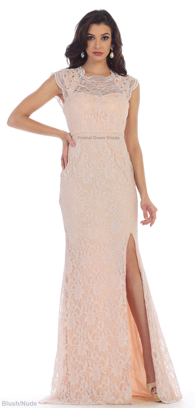 SALE  CAP SLEEVE PROM EVENING FORMAL GOWN rot CARPET LONG SPECIAL OCCASION DRESS
