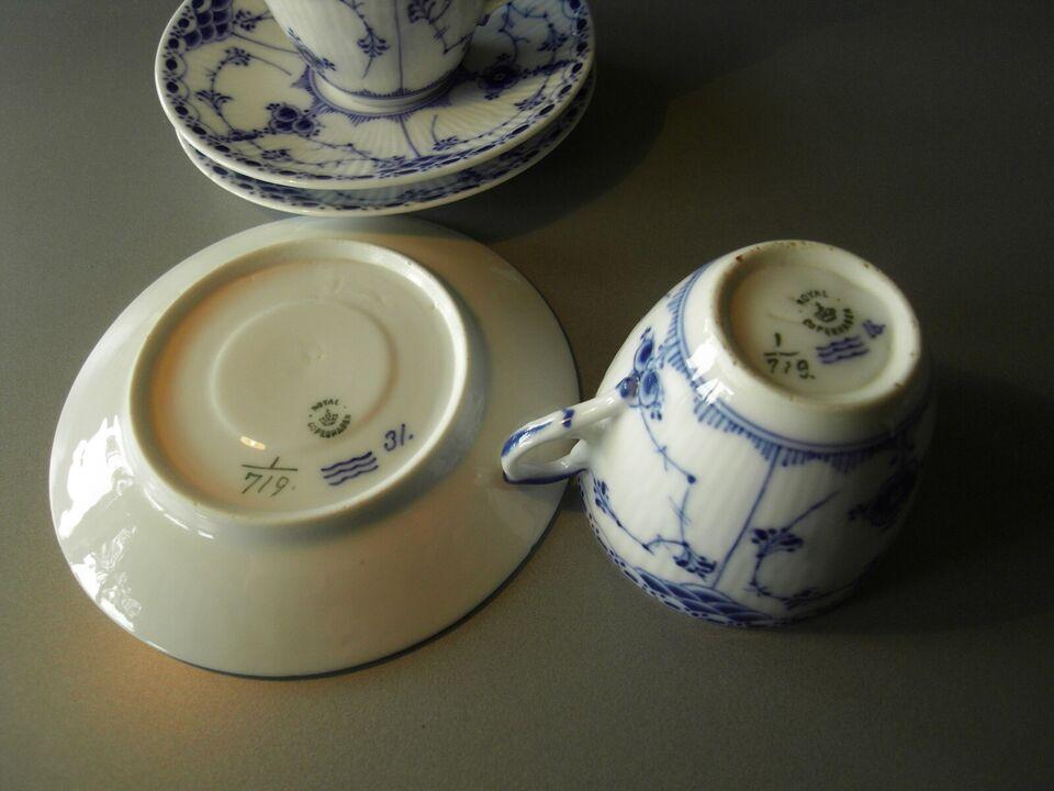Porcelæn, Muselmalet blonde