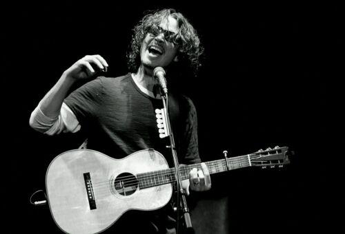"""Chris Cornell Soundgarden Lead Singer R.I.P B/&W HQ Poster 13×20/"""" 24×36/"""" 32×48/"""""""