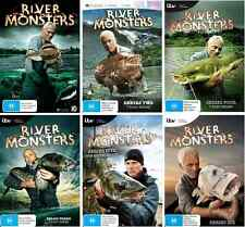 River Monsters SERIES COMPLETE COLLECTION Seasons 1 - 6 : NEW DVD