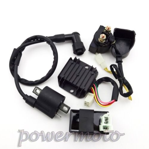ATV Ignition Coil AC CDI Regulator Rectifier Relay Kit For Chinese 150 200 250cc