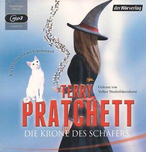 Terry-Pratchett-Die-Krone-des-Schaefers-1-MP3-CD-NEU-Fantasy-Hoerbuch-TOP