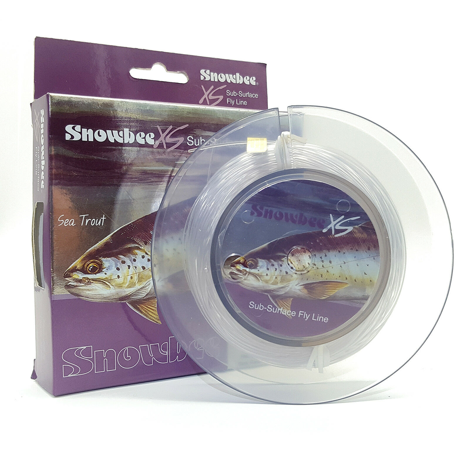 Snowbee XS Sub-Surface Fly Line  - Intermediate - Trout Sea Trout Fishing WF6 WF7  online discount