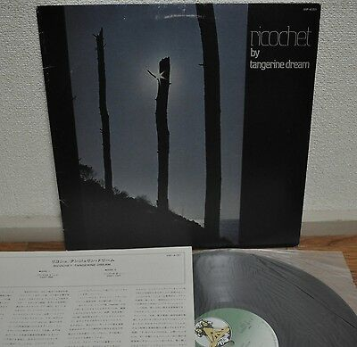 Tangerine Dream Ricochet Japan LP Victor 1982 VIP-4151 Insert Kraftwerk