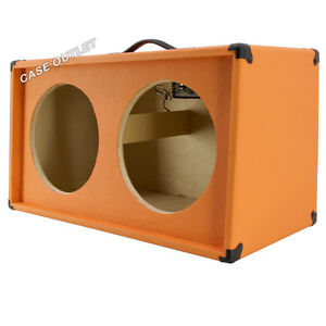2x12 extension empty guitar speaker cabinet orange tolex g2x12sl otl ebay. Black Bedroom Furniture Sets. Home Design Ideas