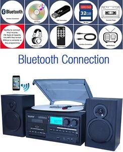 Boytone-BT-28SPB-Bluetooth-Turntable-Record-Play-CD-Radio-Cassette-Encode-Vinyl