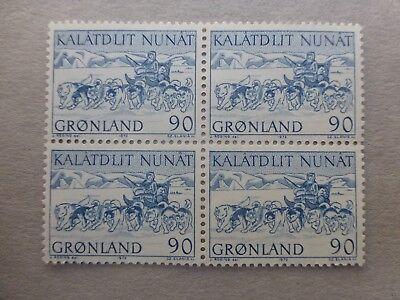 Um Eine Hohe Bewunderung Zu Gewinnen Und Wird Im In Besorgt Grönland 1972 Minr 80 Postfrischer Viererblock 90 Öre Makellos !! Und Ausland Weithin Vertraut.