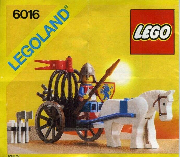 NEW Lego Castle Lion Knights 6016 Knight's Arsenal Sealed LEGOLAND