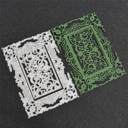 DIY Carbon Steel Frame Stencils Metal Cutting Dies for Scrapbooking Card Making