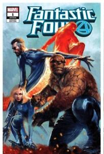 FANTASTIC-FOUR-1-GABRIELE-DELL-039-OTTO-TRADE-DRESS-VARIANT-LIMITED-TO-3000