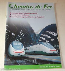 CHEMINS-de-FER-N-477-de-2002-TGV-Tramways-de-DRESDE-Eurailspeed-BERLIN