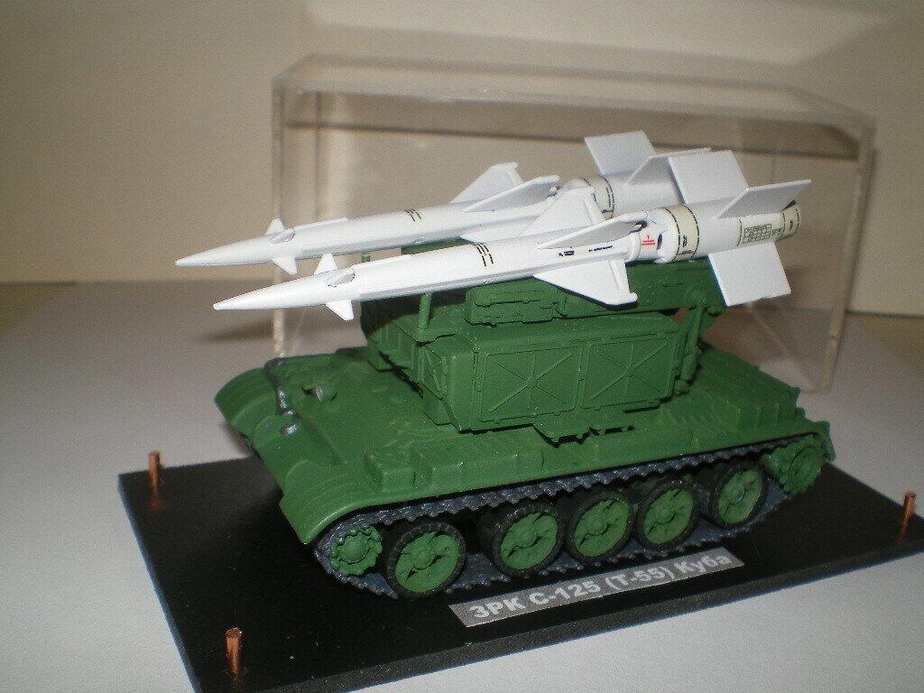 S-125 sur T-55  (CUBA) (1 72)   resine Metal  prix raisonnable