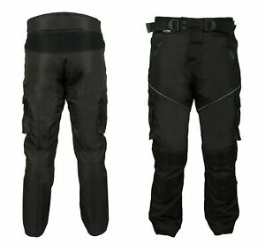 Motorbike Trouser Pants Waterproof Cordura Textile Motorcycle Armoured Trousers