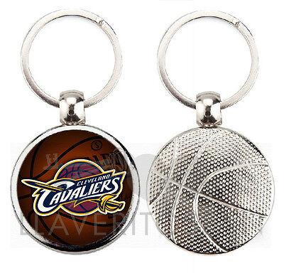 Apprensivo Cleveland Cavaliers Nba Basket Portachiavi-portachiavi-portachiavi-portachiavi
