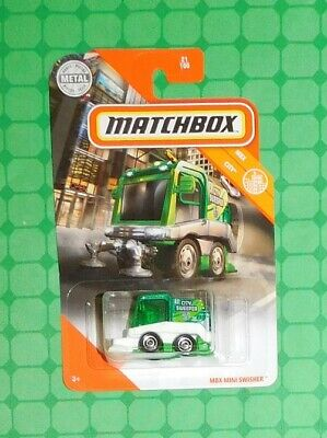 MATCHBOX 2020-MBX Mini Swisher-MBX CITY 21-NEUF dans neuf dans sa boîte