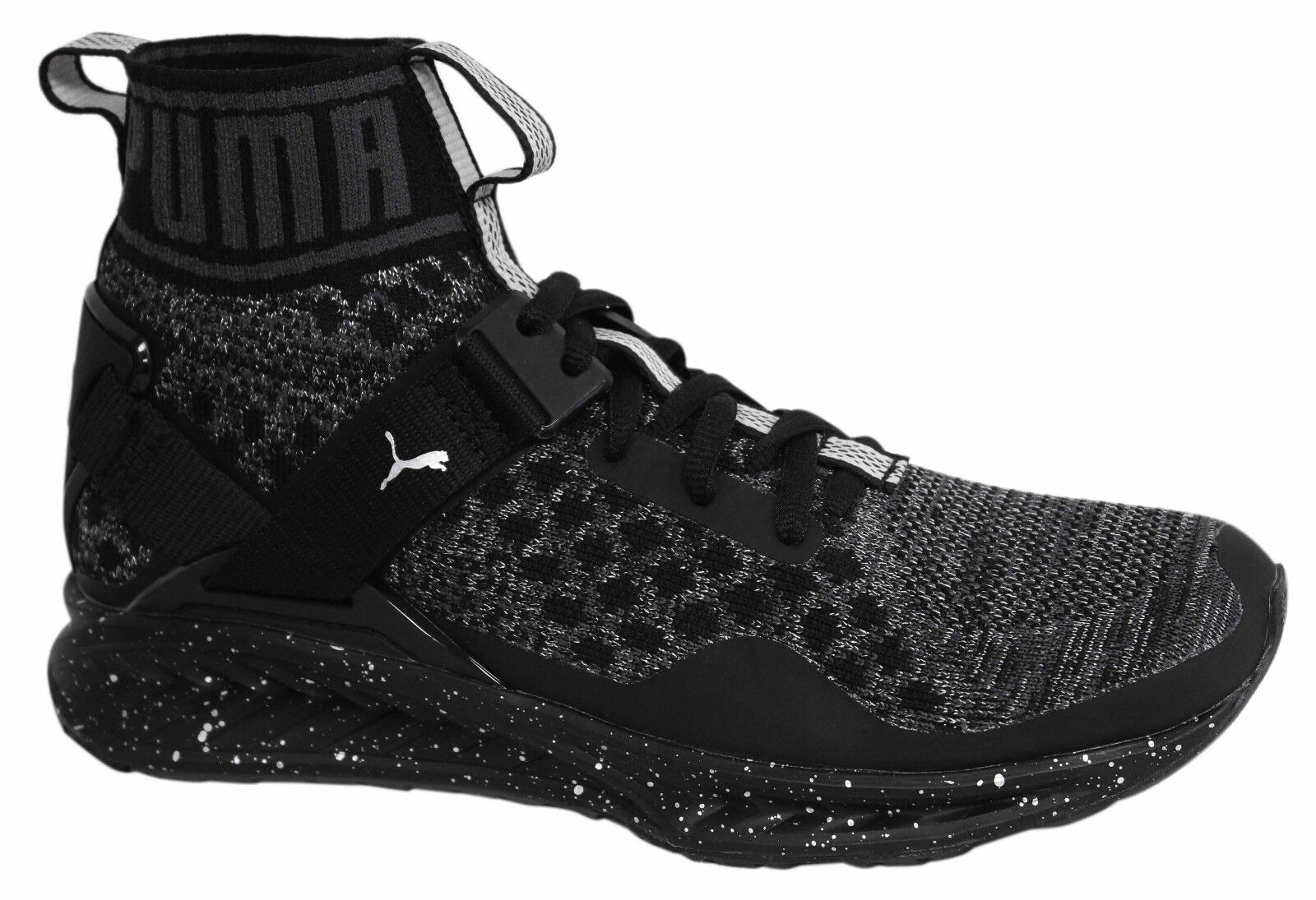 Puma Ignite evoKNIT Metal Lace Up Womens Mid shoes shoes shoes Trainers 189896 01 M14 5ad969
