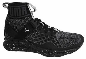 Details zu Puma Ignite evoKNIT Metal Lace Up Womens Mid Shoes Trainers 189896 01 M14