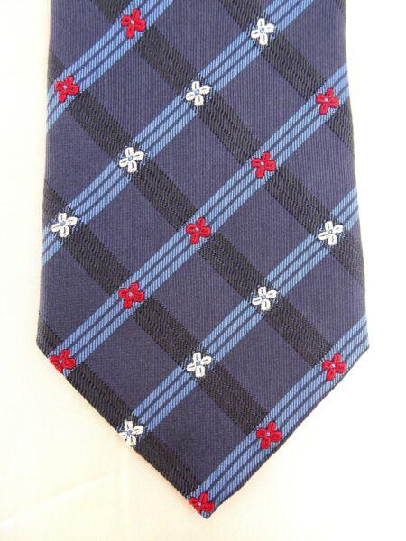 Adaptable Como Nuevo-corbata De Atlas Design, 100% Seda, Made In Italy, Lujo, Corbata-ver Moderno Y Elegante En La Moda