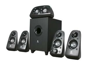 Logitech Z506 75 watts RMS 5.1 Surround Sound Speakers