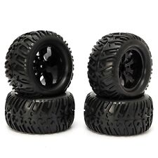 4PCS Wheel Rim Tires HSP 1:10 Monster Truck  Buggy RC Car 12mm