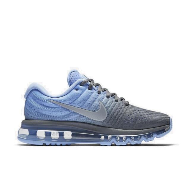new arrival 63d05 17925 Womens AIR MAX 2017 Blue Running Trainers 849560 002