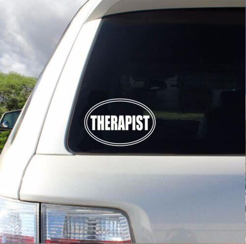 Therapist Art Design Car vinyl Sticker Decals