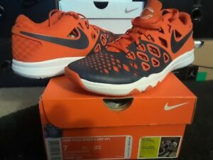 730bf3b34867 Nike Air Zoom Train Speed 4 Amp NFL Chicago Bears Orange Marine ...