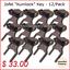 Jofel-034-Kunilock-034-Key-for-Paper-Towel-Toilet-Tissue-amp-Soap-Dispensers-12-pk thumbnail 1
