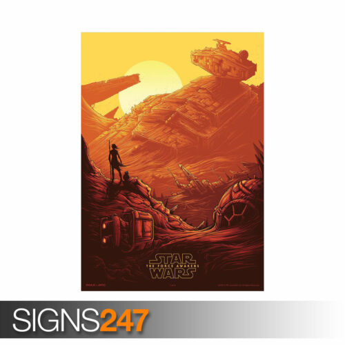 1048 STAR WARS THE FORCE AWAKENS Picture Poster Print Art A0 A1 A2 A3 A4