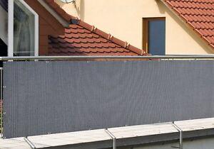 das bild wird geladen sichtschutz windschutz balkonverkleidung rattanoptik 0 9 x 3